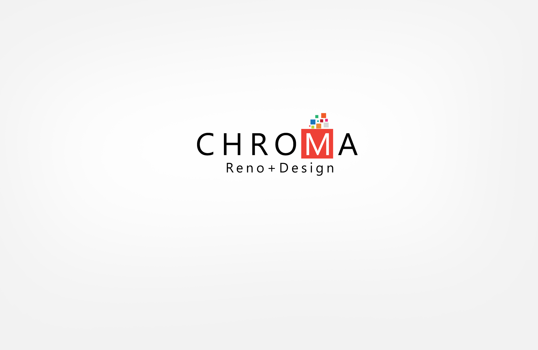 Logo Design by Jan Chua - Entry No. 9 in the Logo Design Contest Inspiring Logo Design for Chroma Reno+Design.