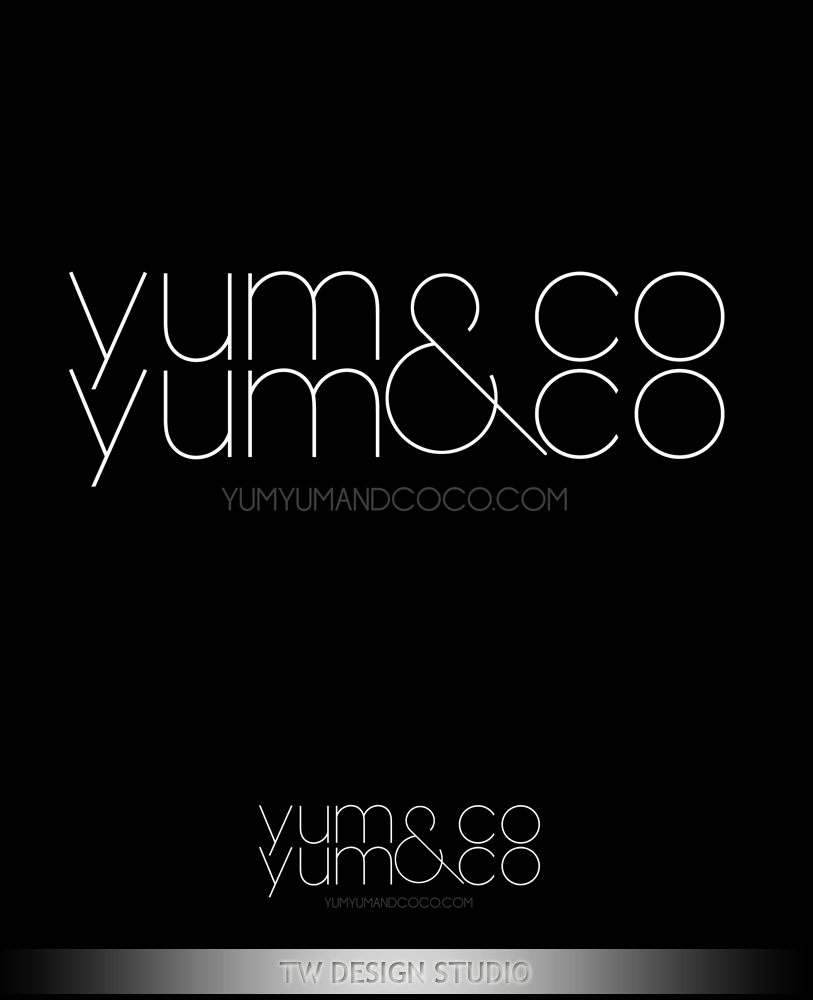 Logo Design by Private User - Entry No. 141 in the Logo Design Contest Logo Design for YumYum & CoCo.