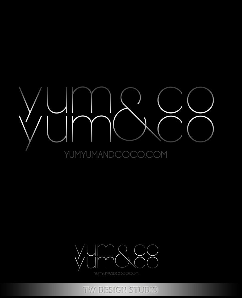 Logo Design by Private User - Entry No. 142 in the Logo Design Contest Logo Design for YumYum & CoCo.