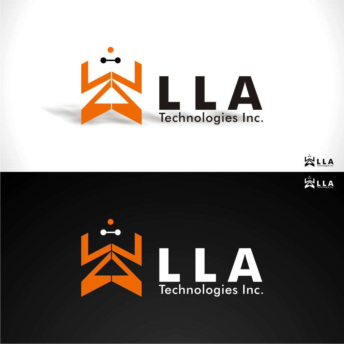 Logo Design by uya128 - Entry No. 13 in the Logo Design Contest Inspiring Logo Design for LLA Technologies Inc..