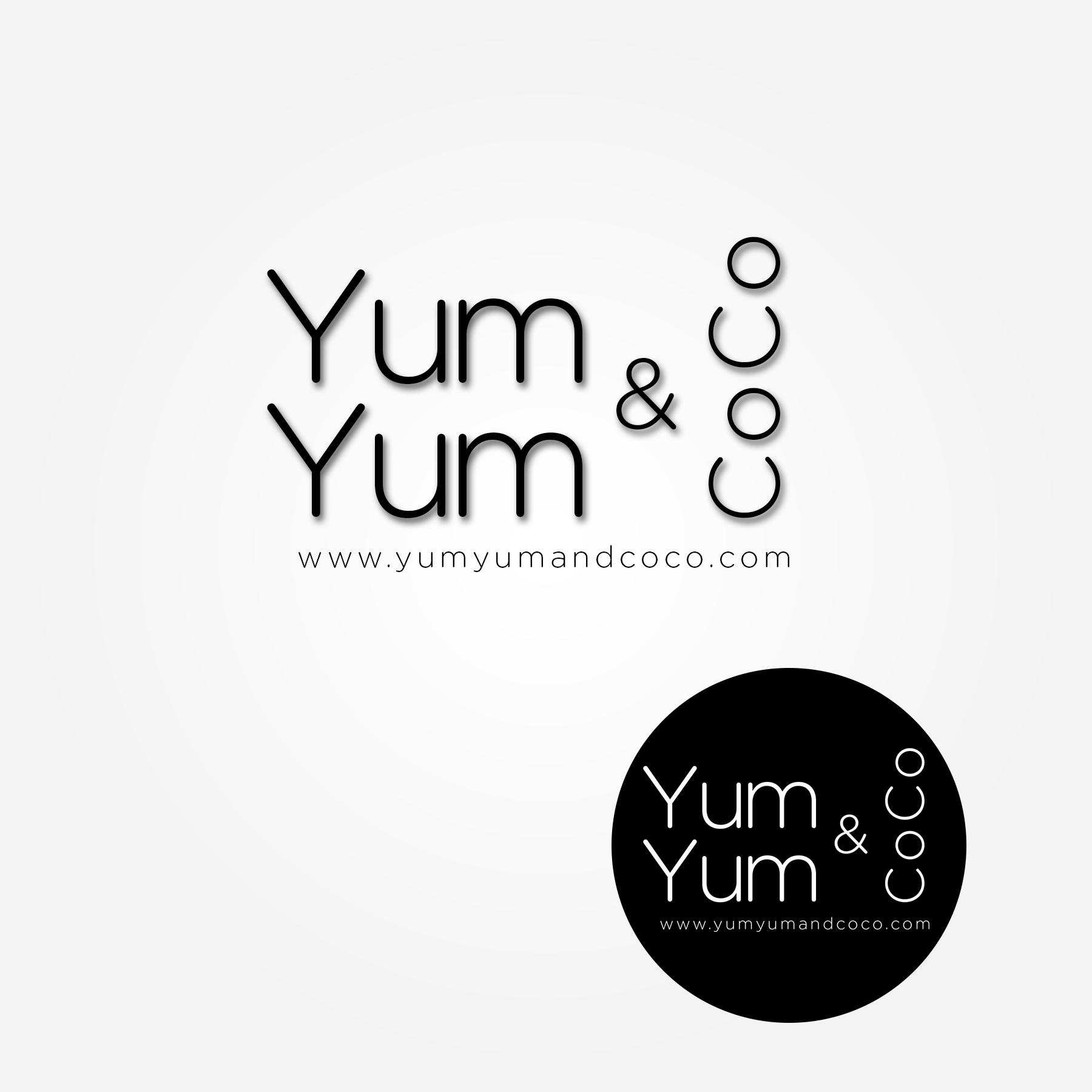 Logo Design by Lemuel Arvin Tanzo - Entry No. 147 in the Logo Design Contest Logo Design for YumYum & CoCo.