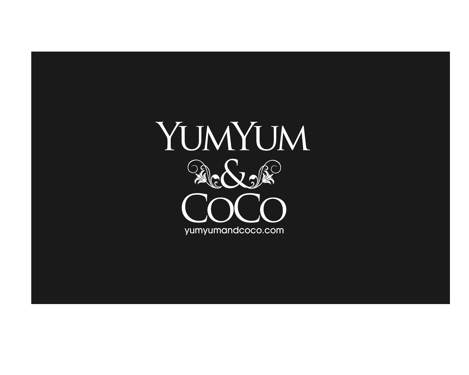 Logo Design by Jagdeep Singh - Entry No. 151 in the Logo Design Contest Logo Design for YumYum & CoCo.