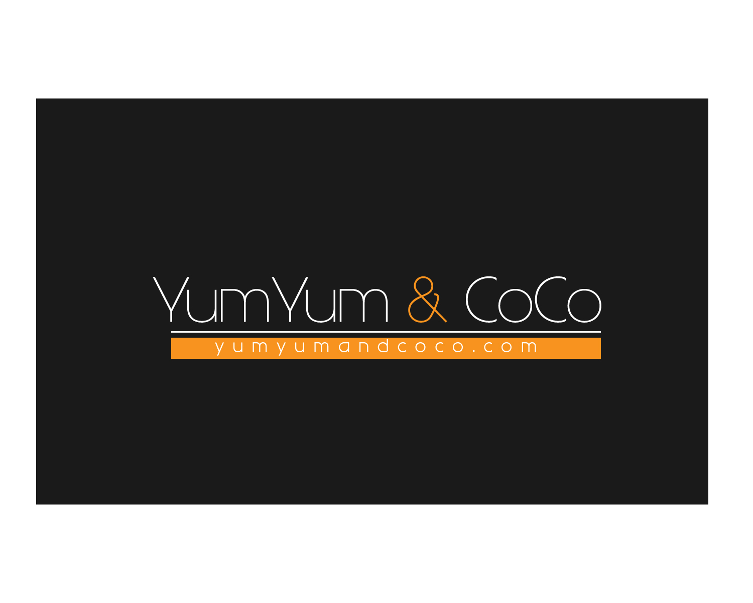 Logo Design by Jagdeep Singh - Entry No. 152 in the Logo Design Contest Logo Design for YumYum & CoCo.