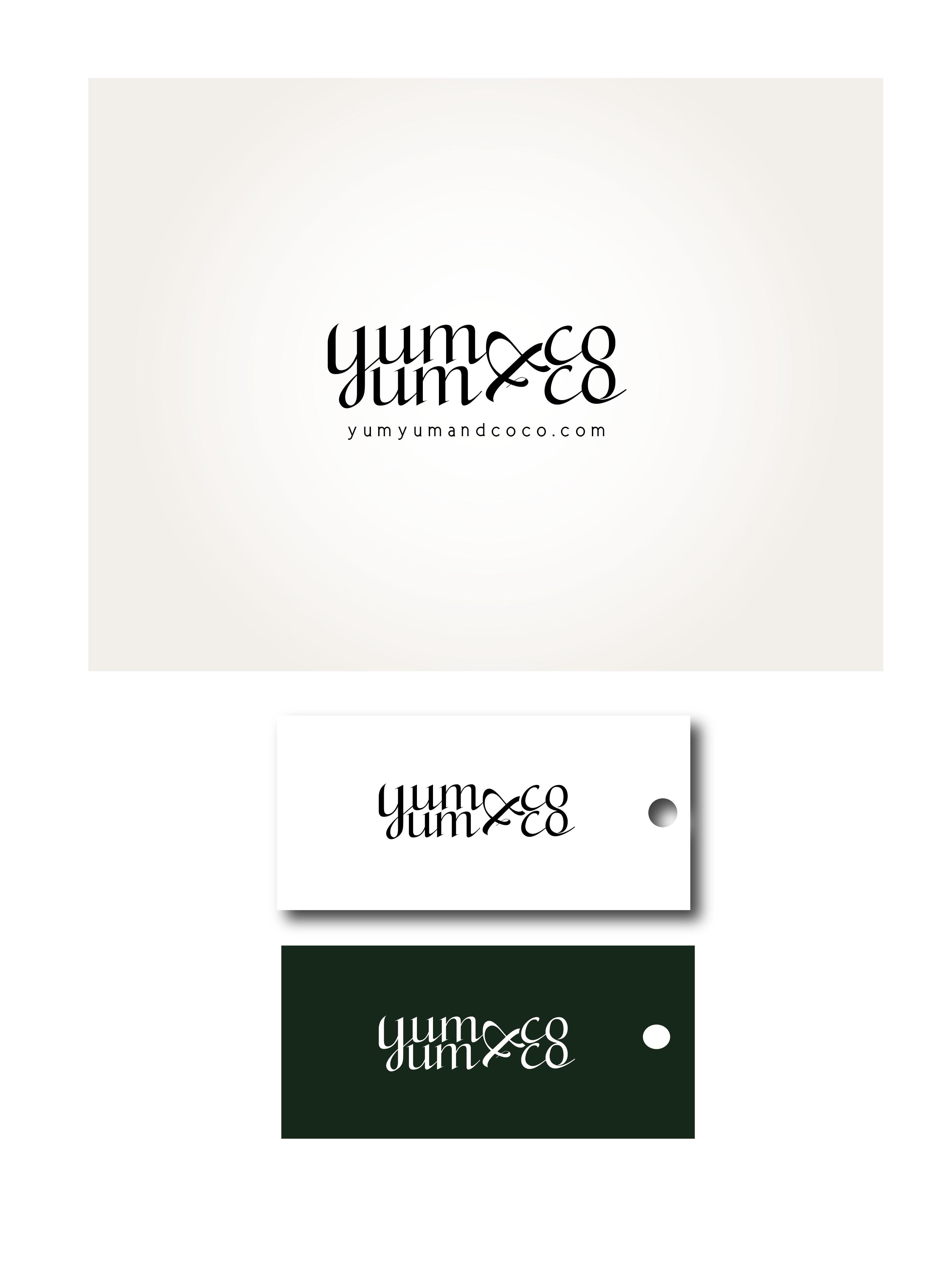 Logo Design by Son Graphics - Entry No. 153 in the Logo Design Contest Logo Design for YumYum & CoCo.