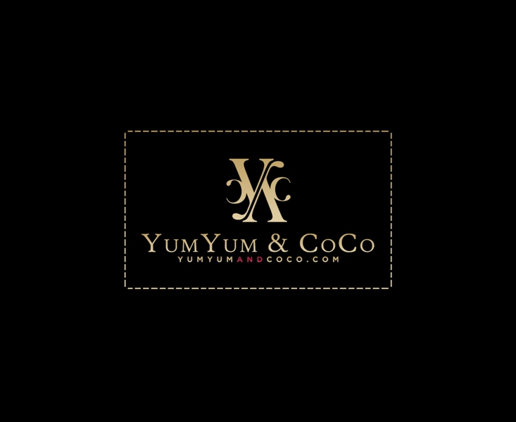 Logo Design by Juan_Kata - Entry No. 155 in the Logo Design Contest Logo Design for YumYum & CoCo.