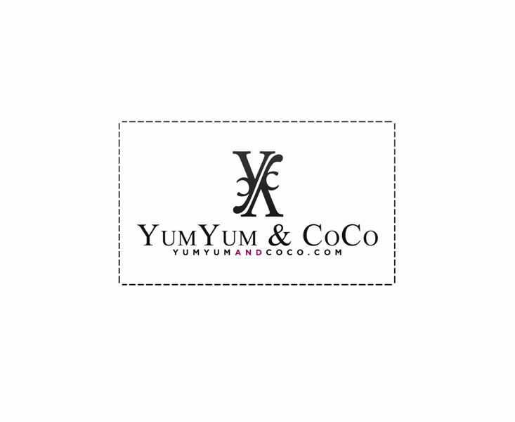 Logo Design by Juan_Kata - Entry No. 156 in the Logo Design Contest Logo Design for YumYum & CoCo.