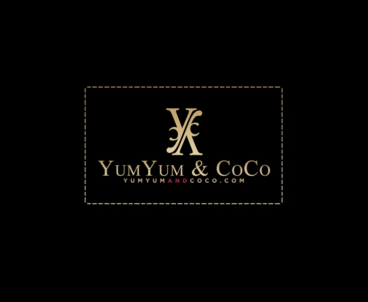 Logo Design by Juan_Kata - Entry No. 157 in the Logo Design Contest Logo Design for YumYum & CoCo.