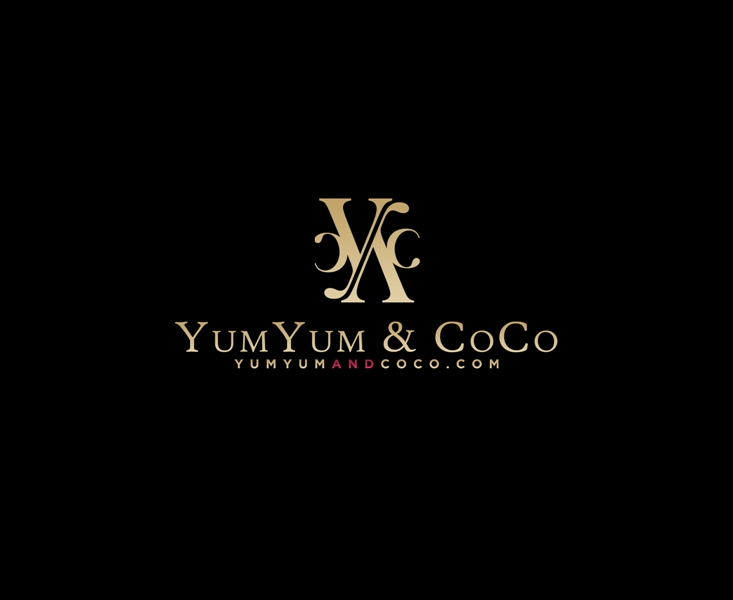Logo Design by Juan_Kata - Entry No. 159 in the Logo Design Contest Logo Design for YumYum & CoCo.