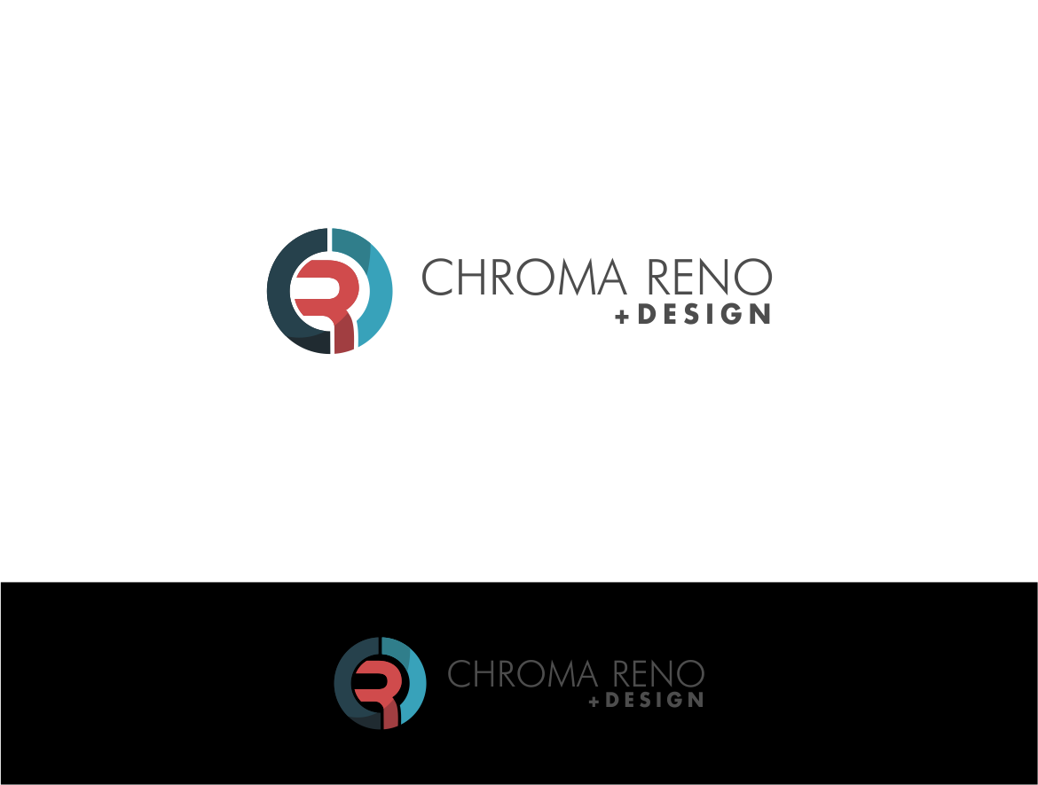 Logo Design by haidu - Entry No. 13 in the Logo Design Contest Inspiring Logo Design for Chroma Reno+Design.