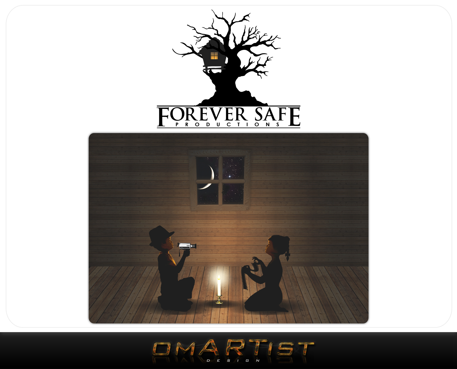 Logo Design by omARTist - Entry No. 44 in the Logo Design Contest Inspiring Logo Design for Forever Safe Productions.