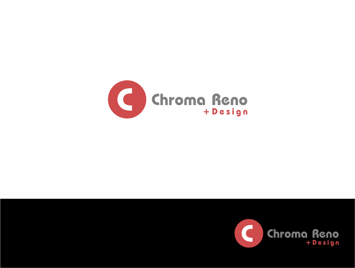 Logo Design by haidu - Entry No. 16 in the Logo Design Contest Inspiring Logo Design for Chroma Reno+Design.