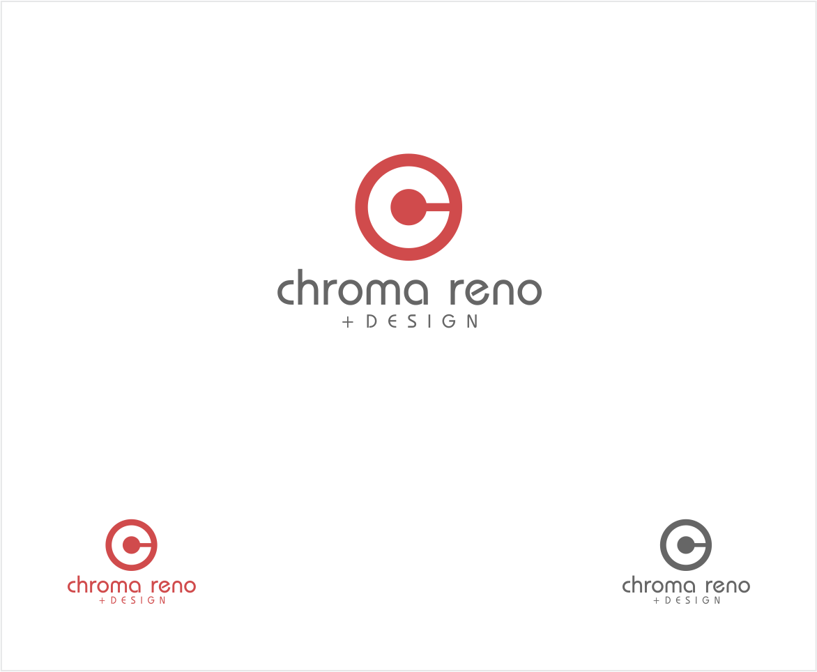 Logo Design by haidu - Entry No. 17 in the Logo Design Contest Inspiring Logo Design for Chroma Reno+Design.