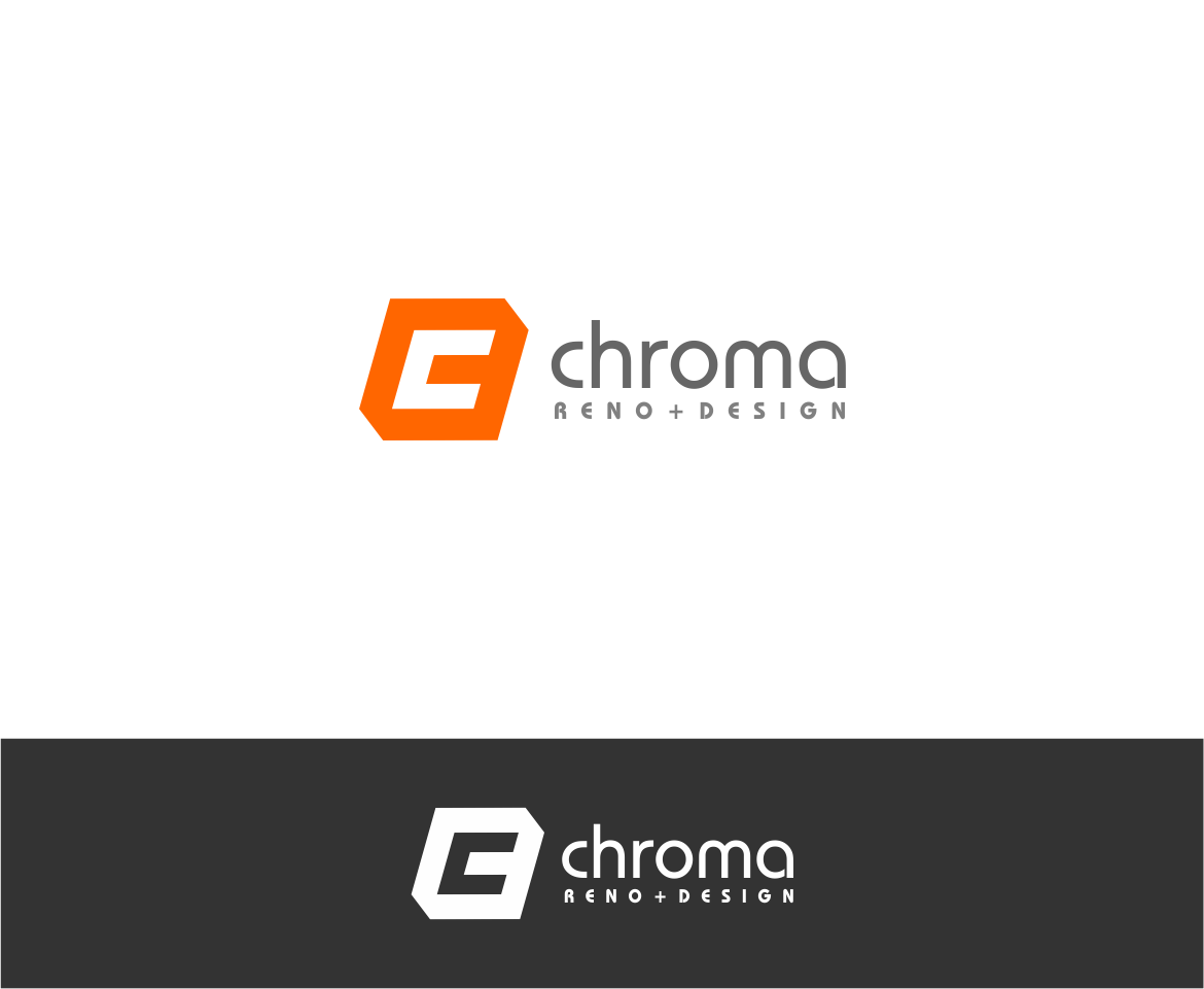 Logo Design by haidu - Entry No. 21 in the Logo Design Contest Inspiring Logo Design for Chroma Reno+Design.
