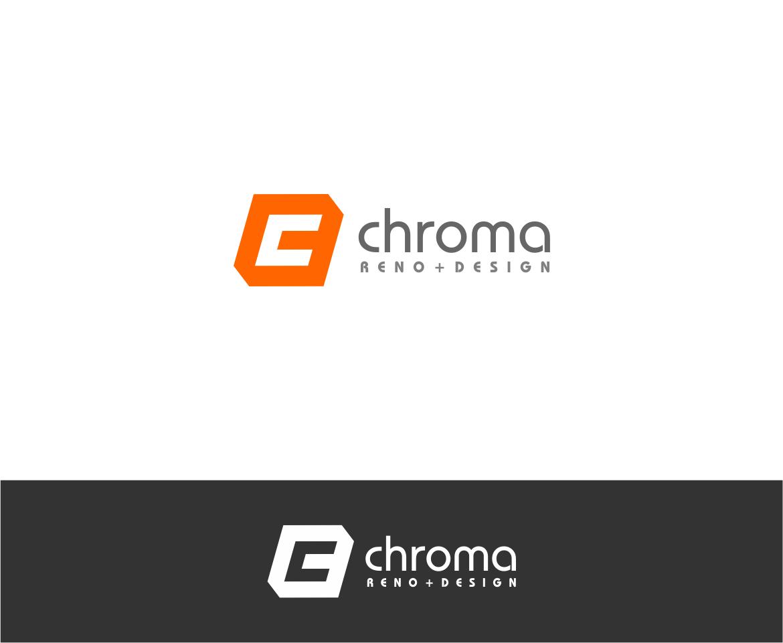 Logo Design by haidu - Entry No. 21 in the Logo Design Contest Inspiring Logo Design for Chroma Reno+Design.