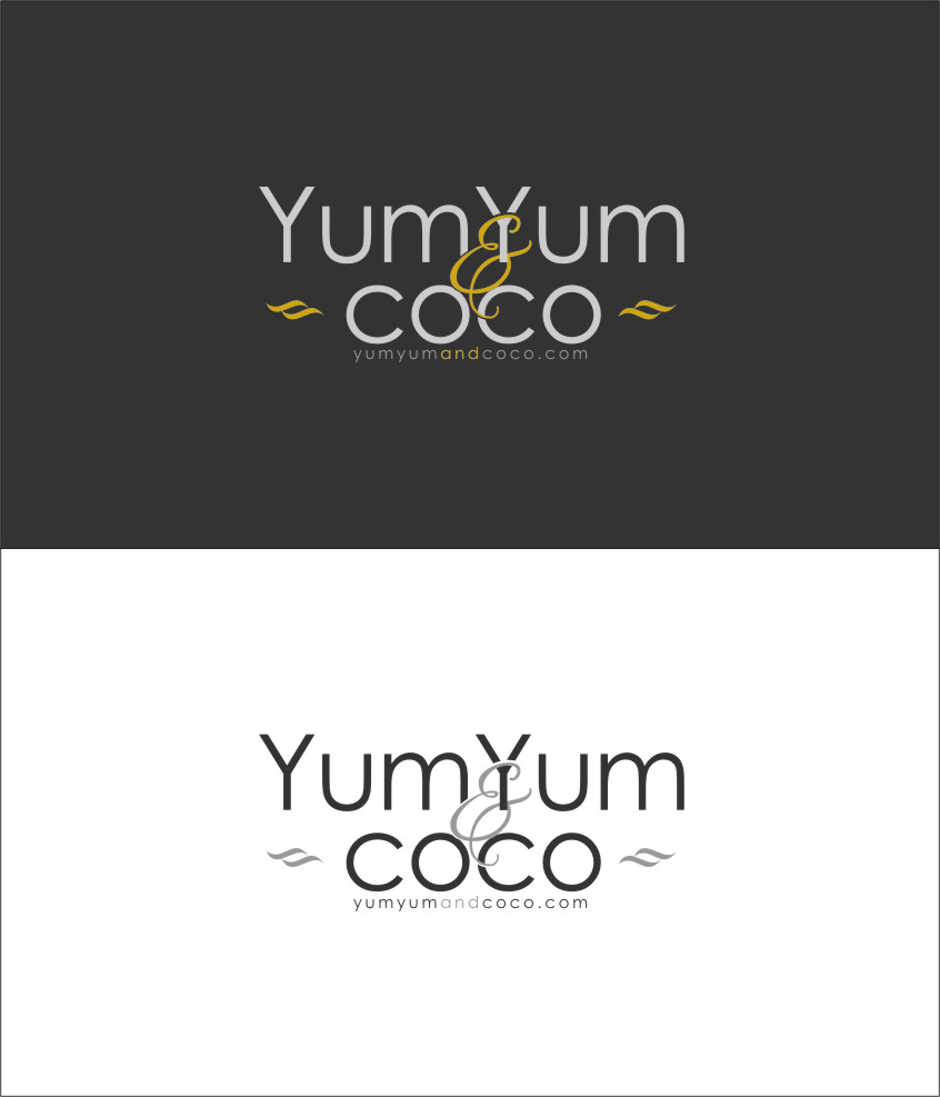 Logo Design by RoSyid Rono-Rene On Java - Entry No. 168 in the Logo Design Contest Logo Design for YumYum & CoCo.