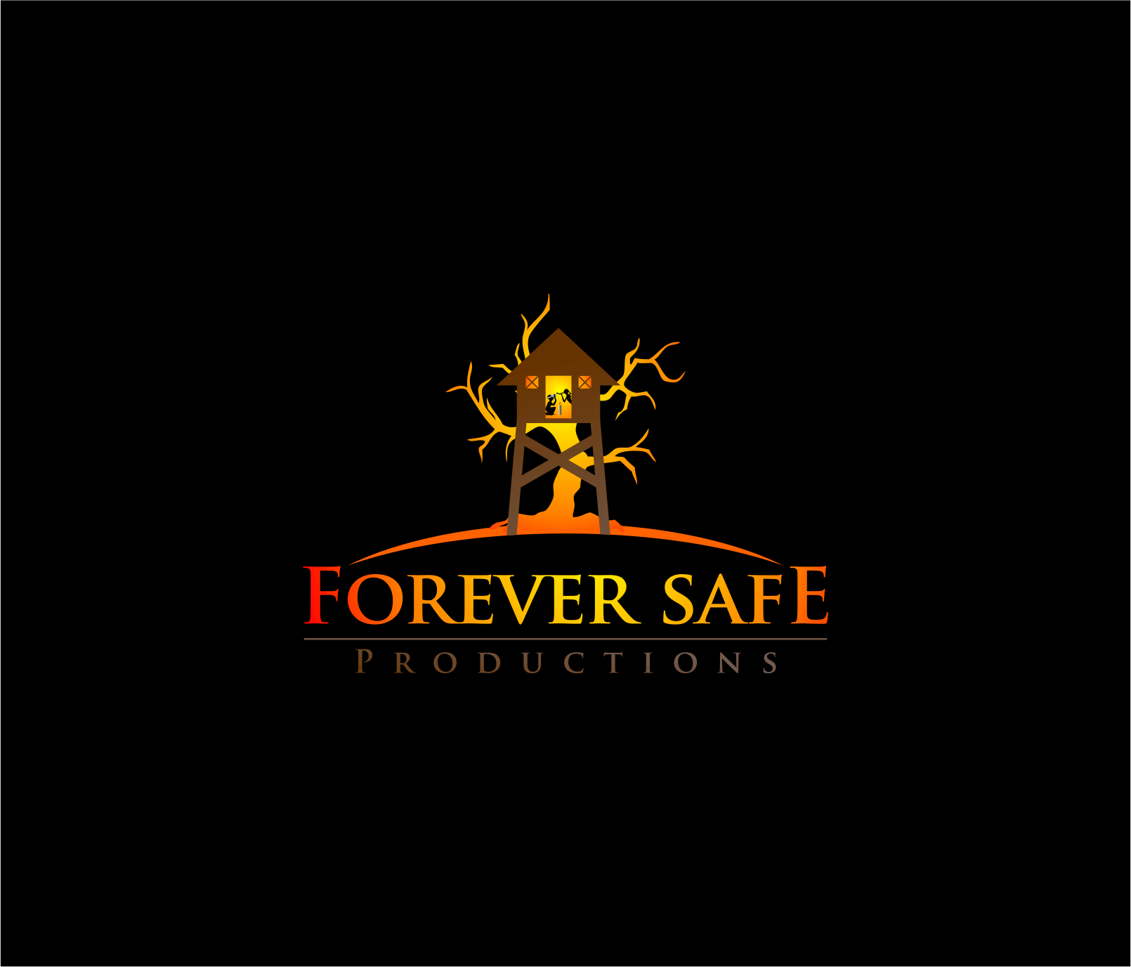 Logo Design by haidu - Entry No. 46 in the Logo Design Contest Inspiring Logo Design for Forever Safe Productions.