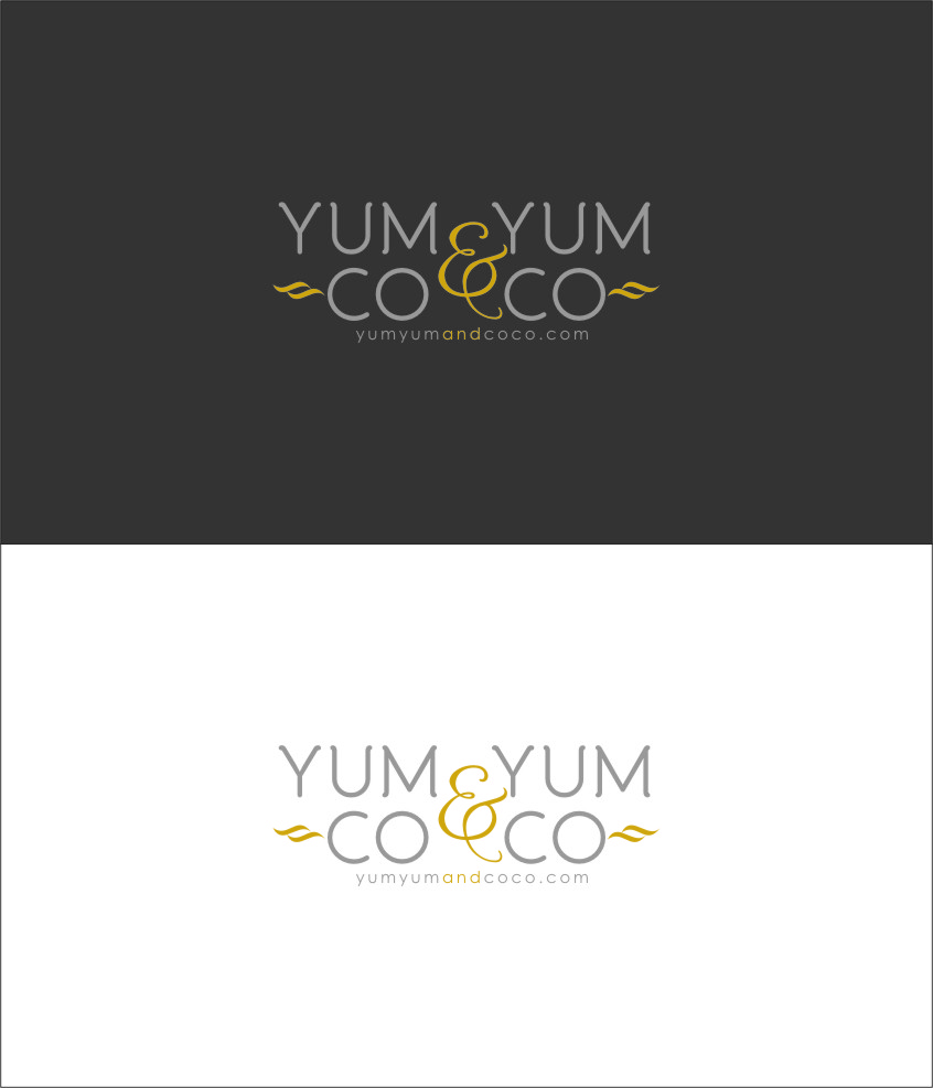 Logo Design by Ngepet_art - Entry No. 170 in the Logo Design Contest Logo Design for YumYum & CoCo.