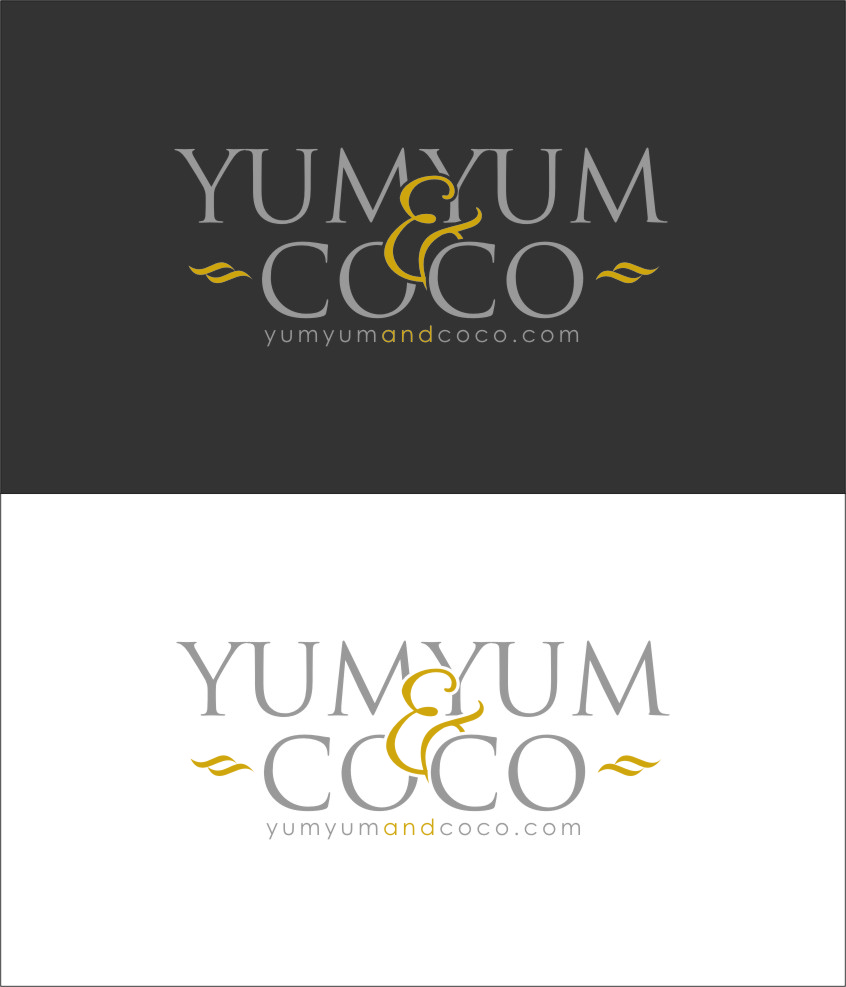 Logo Design by Ngepet_art - Entry No. 171 in the Logo Design Contest Logo Design for YumYum & CoCo.
