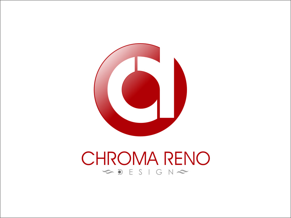 Logo Design by RoSyid Rono-Rene On Java - Entry No. 24 in the Logo Design Contest Inspiring Logo Design for Chroma Reno+Design.