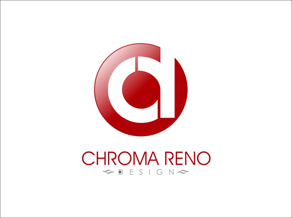 Logo Design by RasYa Muhammad Athaya - Entry No. 24 in the Logo Design Contest Inspiring Logo Design for Chroma Reno+Design.