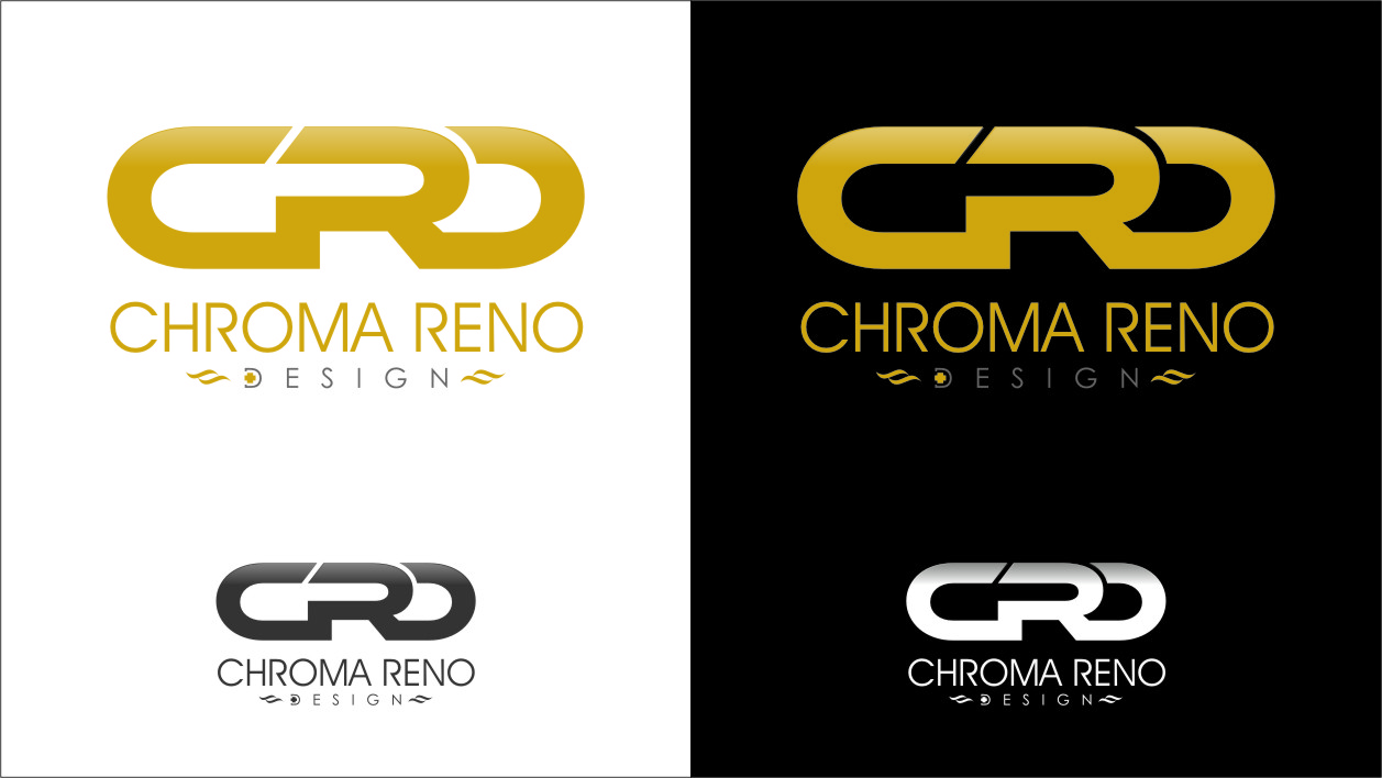 Logo Design by RasYa Muhammad Athaya - Entry No. 27 in the Logo Design Contest Inspiring Logo Design for Chroma Reno+Design.