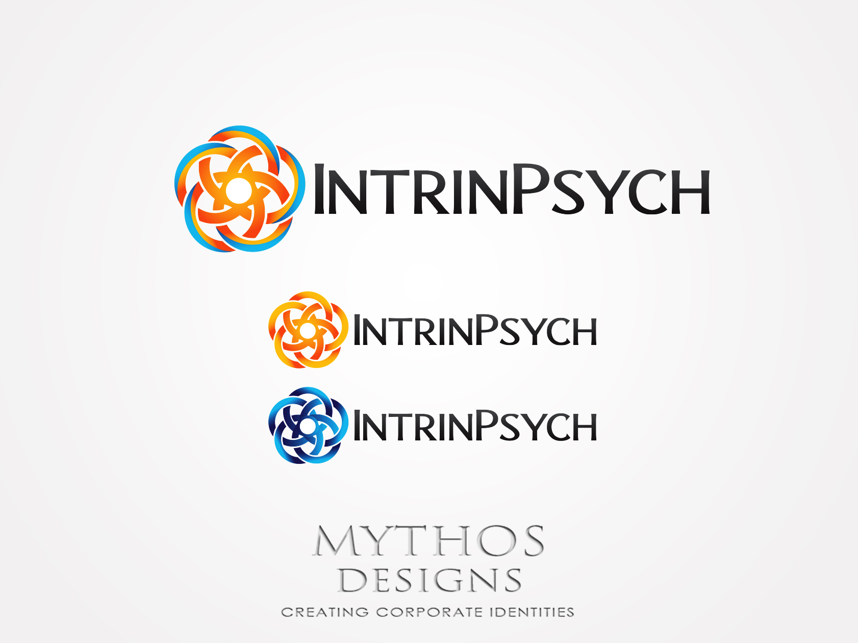 Logo Design by Mythos Designs - Entry No. 143 in the Logo Design Contest New Logo Design for IntrinPsych.