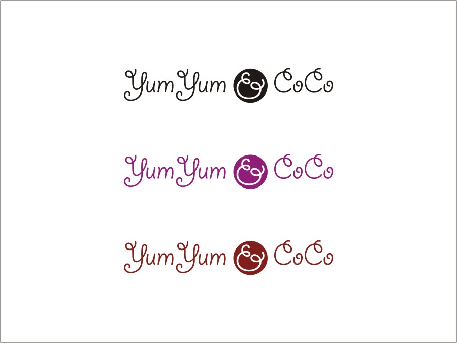 Logo Design by RED HORSE design studio - Entry No. 176 in the Logo Design Contest Logo Design for YumYum & CoCo.