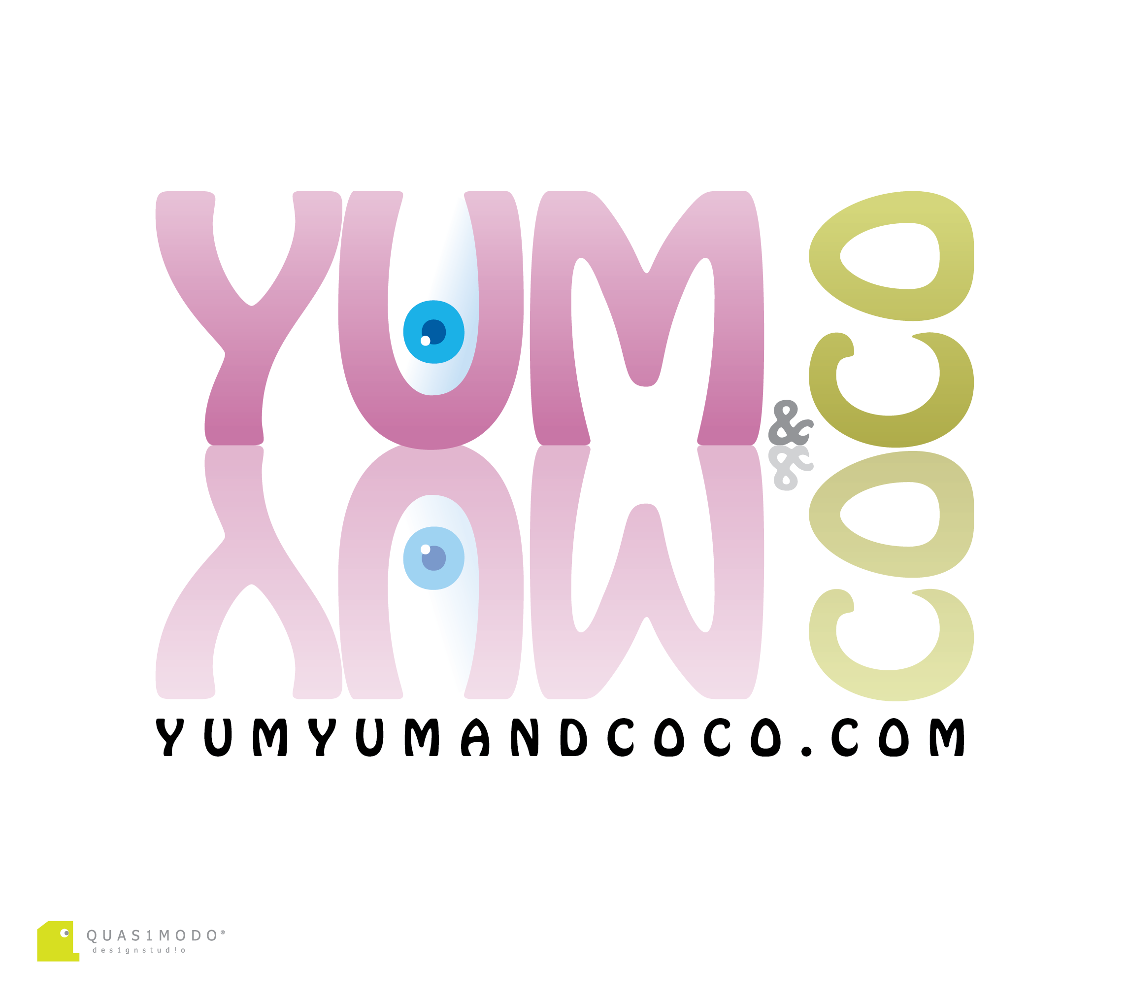 Logo Design by DIMITRIOS PAPADOPOULOS - Entry No. 178 in the Logo Design Contest Logo Design for YumYum & CoCo.