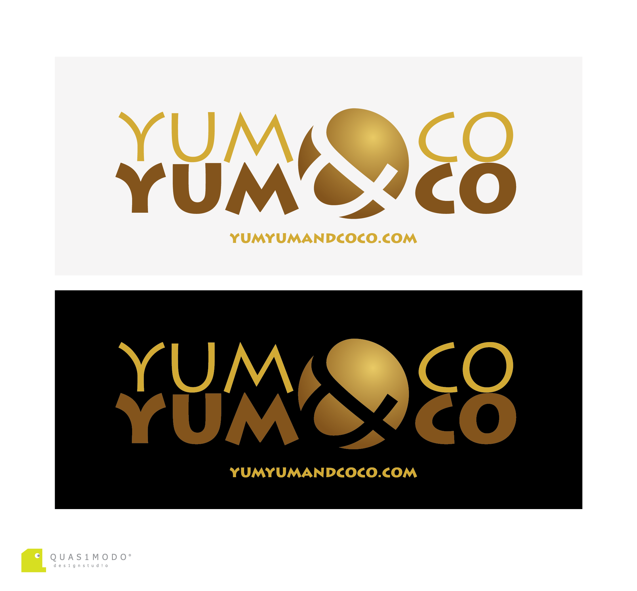 Logo Design by DIMITRIOS PAPADOPOULOS - Entry No. 182 in the Logo Design Contest Logo Design for YumYum & CoCo.