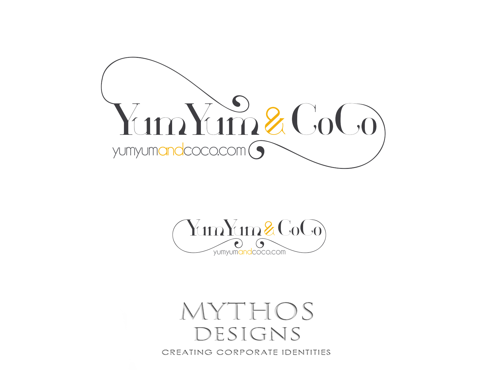 Logo Design by Mythos Designs - Entry No. 183 in the Logo Design Contest Logo Design for YumYum & CoCo.