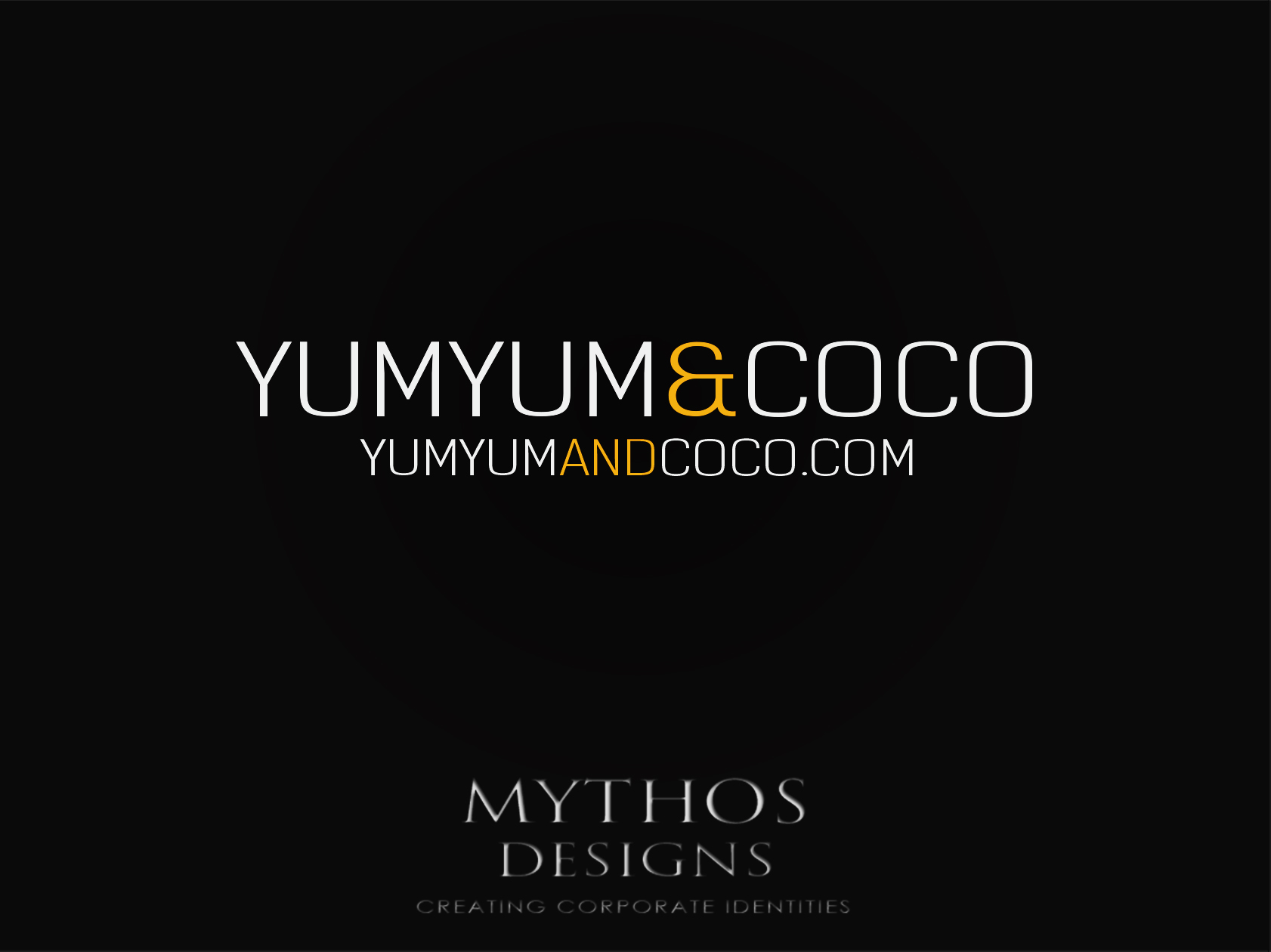 Logo Design by Mythos Designs - Entry No. 184 in the Logo Design Contest Logo Design for YumYum & CoCo.