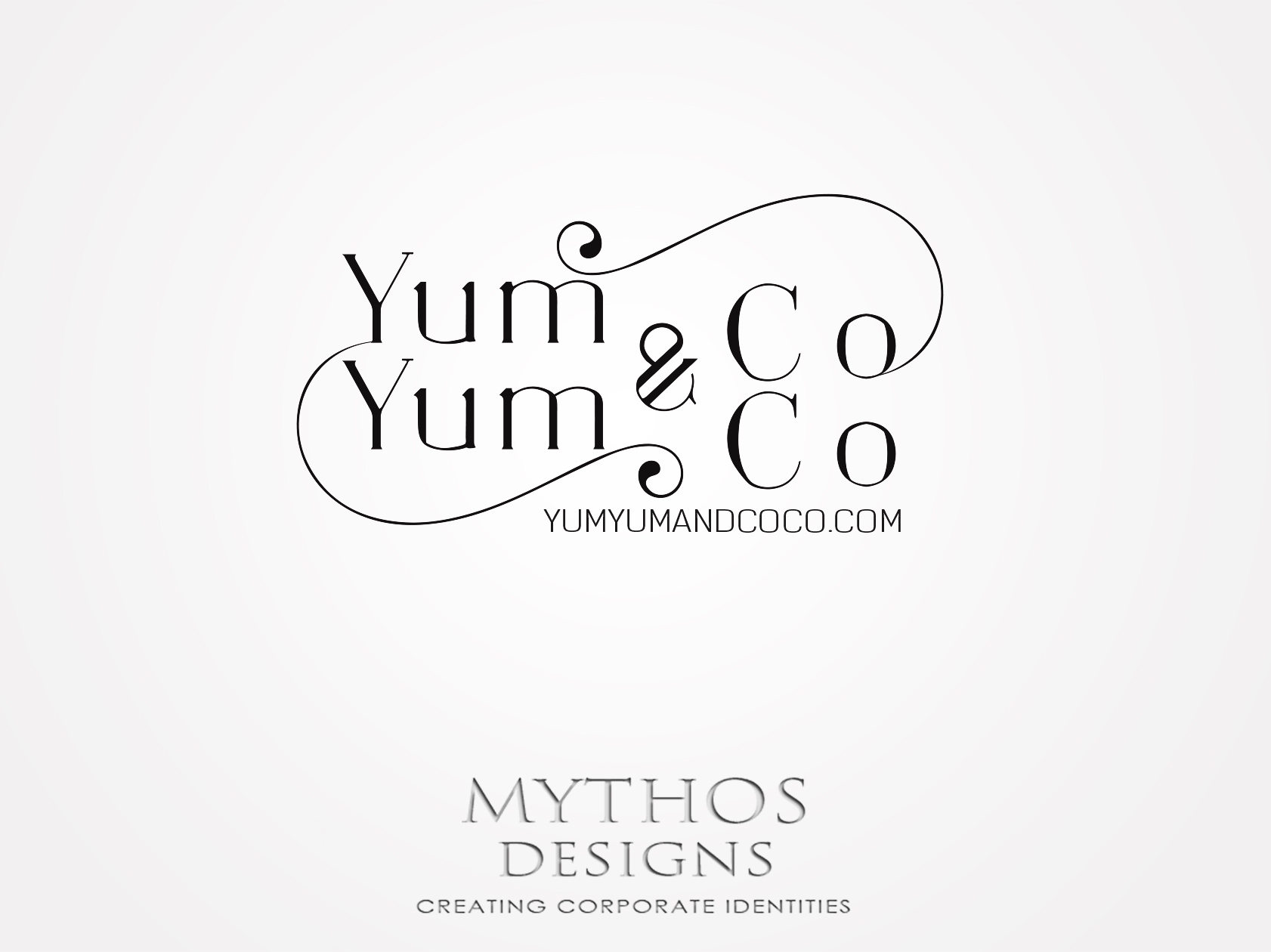Logo Design by Mythos Designs - Entry No. 185 in the Logo Design Contest Logo Design for YumYum & CoCo.