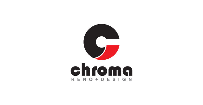 Logo Design by SERO - Entry No. 31 in the Logo Design Contest Inspiring Logo Design for Chroma Reno+Design.
