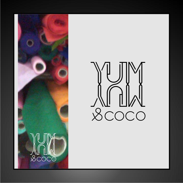 Logo Design by Muhammad Nasrul chasib - Entry No. 187 in the Logo Design Contest Logo Design for YumYum & CoCo.