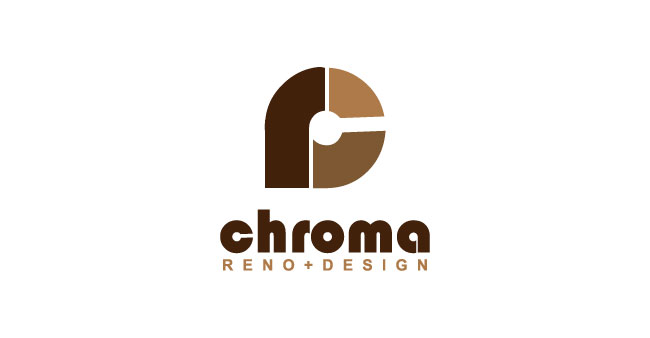 Logo Design by SERO - Entry No. 32 in the Logo Design Contest Inspiring Logo Design for Chroma Reno+Design.