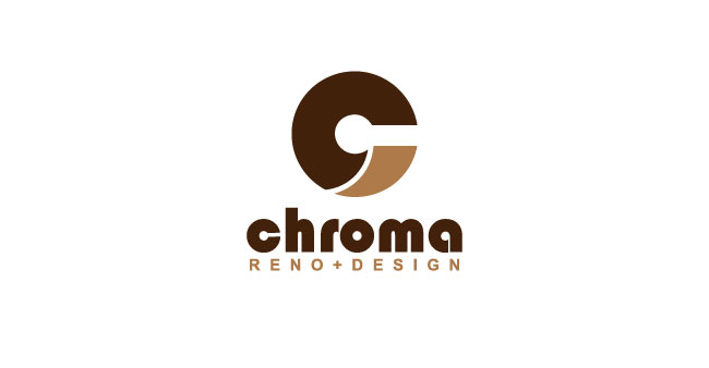 Logo Design by SERO - Entry No. 33 in the Logo Design Contest Inspiring Logo Design for Chroma Reno+Design.