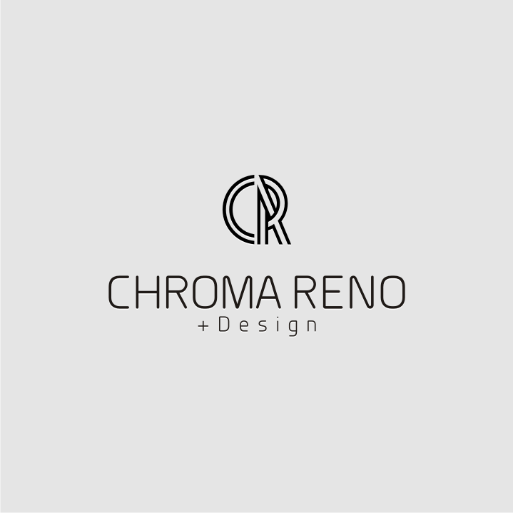 Logo Design by Muhammad Nasrul chasib - Entry No. 34 in the Logo Design Contest Inspiring Logo Design for Chroma Reno+Design.