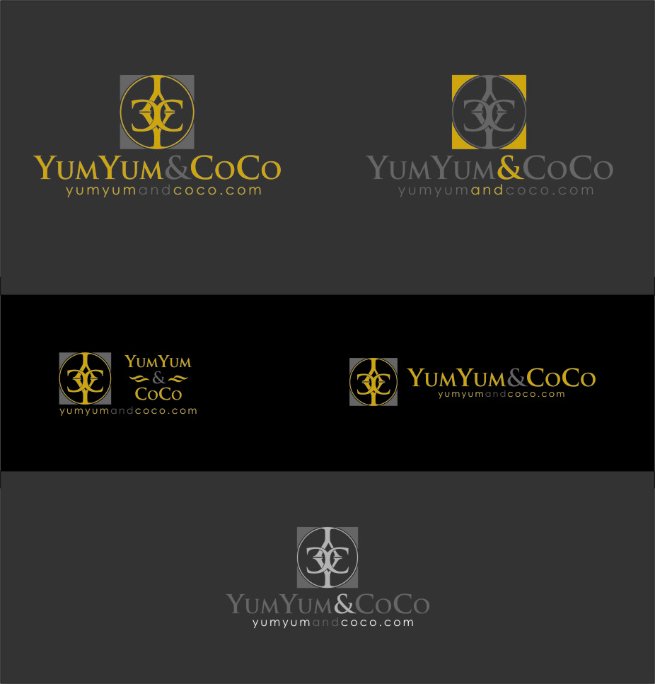 Logo Design by RoSyid Rono-Rene On Java - Entry No. 188 in the Logo Design Contest Logo Design for YumYum & CoCo.
