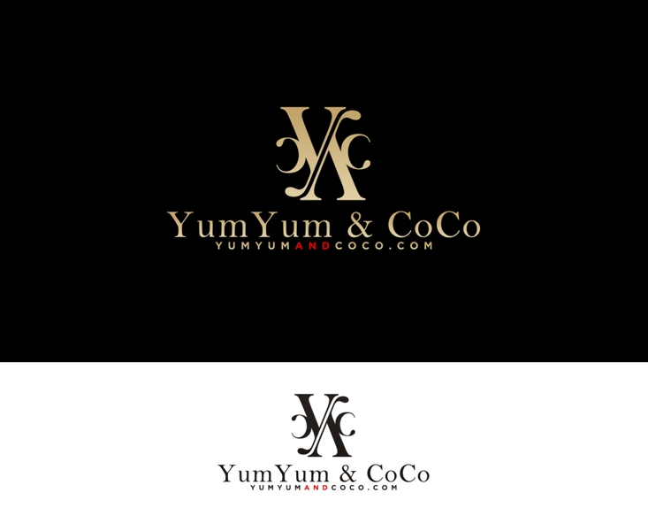 Logo Design by Juan_Kata - Entry No. 190 in the Logo Design Contest Logo Design for YumYum & CoCo.