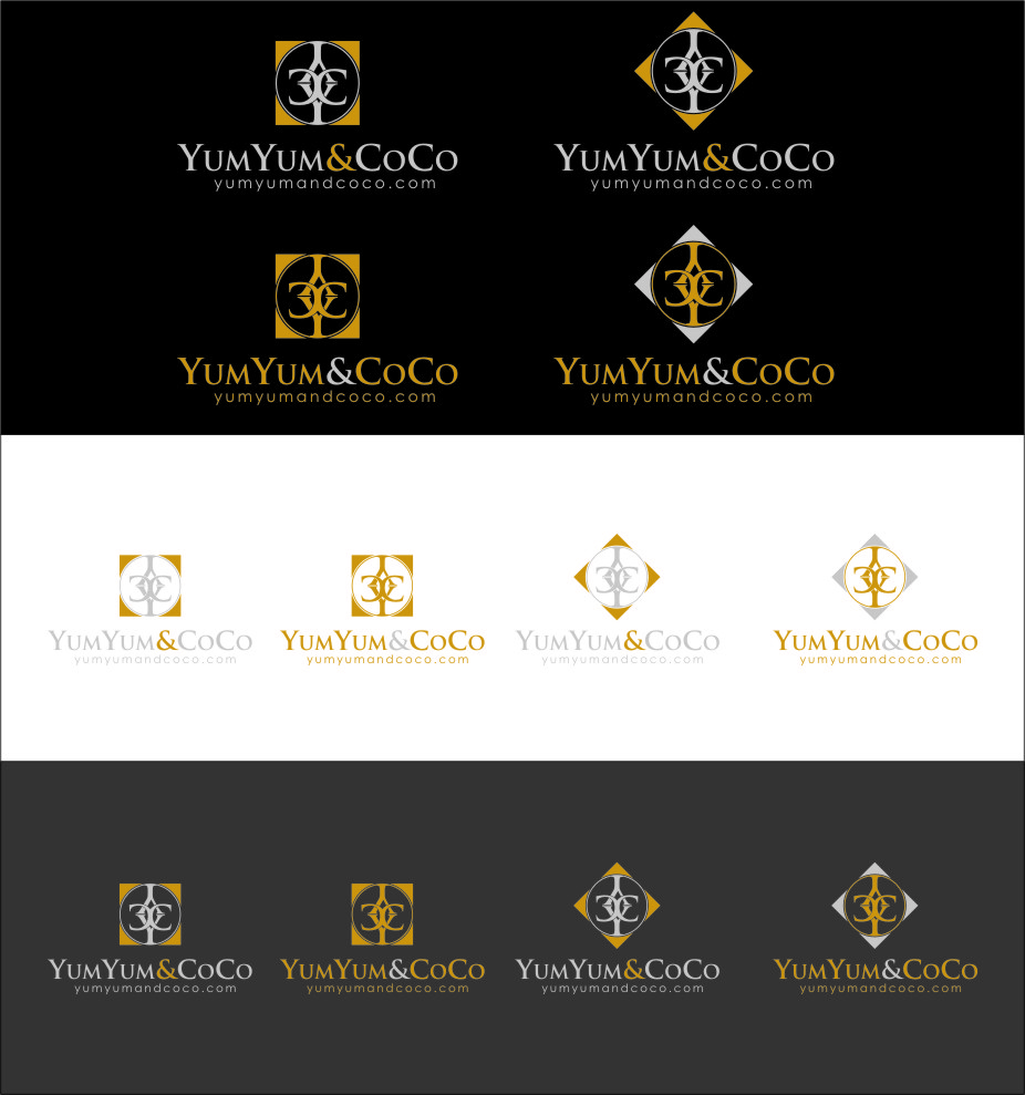 Logo Design by RasYa Muhammad Athaya - Entry No. 196 in the Logo Design Contest Logo Design for YumYum & CoCo.