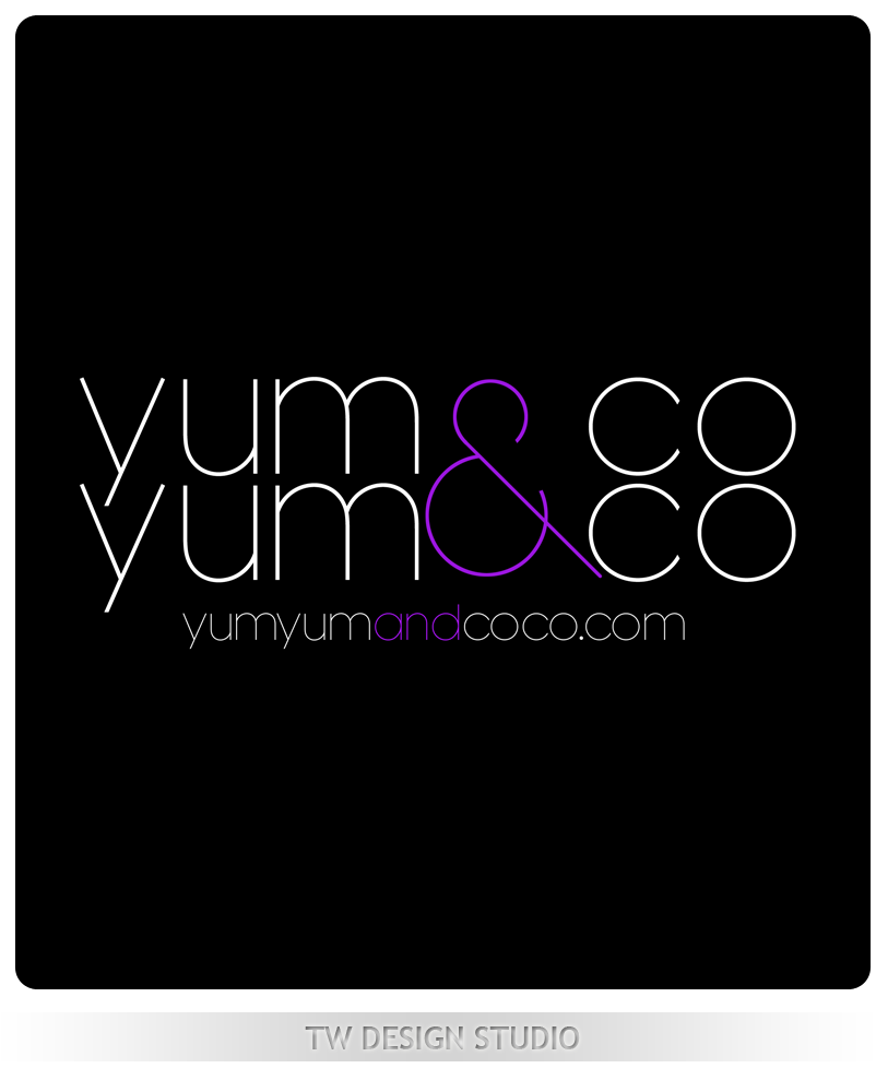 Logo Design by Private User - Entry No. 199 in the Logo Design Contest Logo Design for YumYum & CoCo.