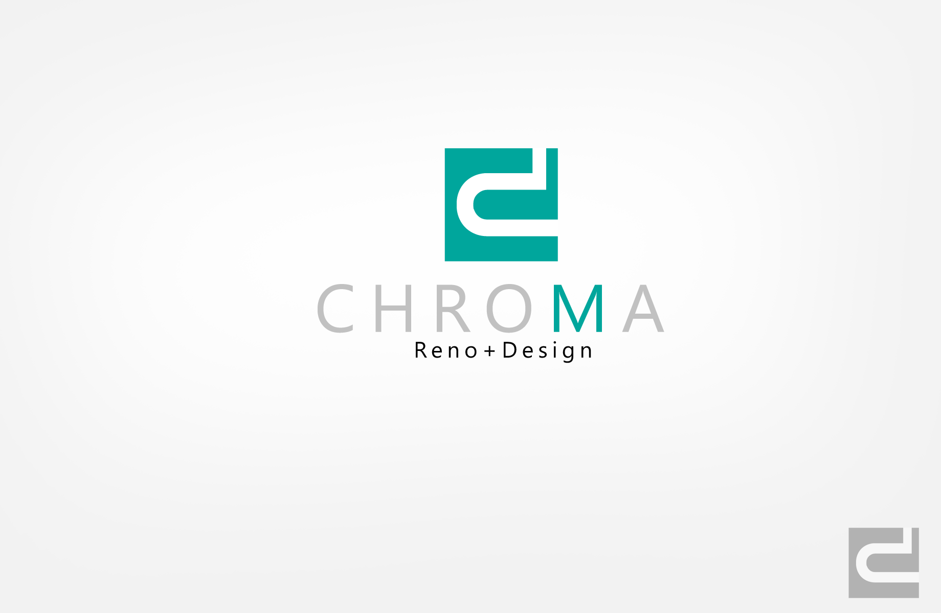 Logo Design by Jan Chua - Entry No. 36 in the Logo Design Contest Inspiring Logo Design for Chroma Reno+Design.