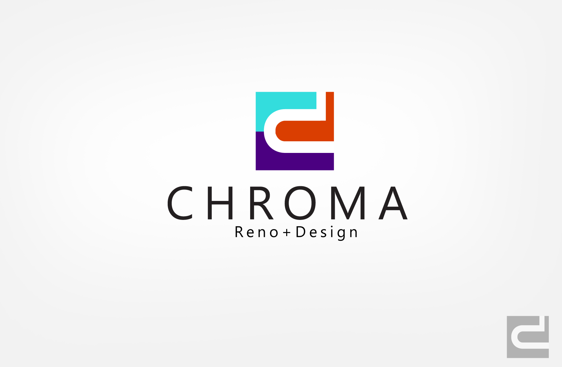 Logo Design by Jan Chua - Entry No. 37 in the Logo Design Contest Inspiring Logo Design for Chroma Reno+Design.