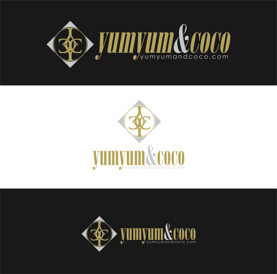 Logo Design by Ngepet_art - Entry No. 201 in the Logo Design Contest Logo Design for YumYum & CoCo.