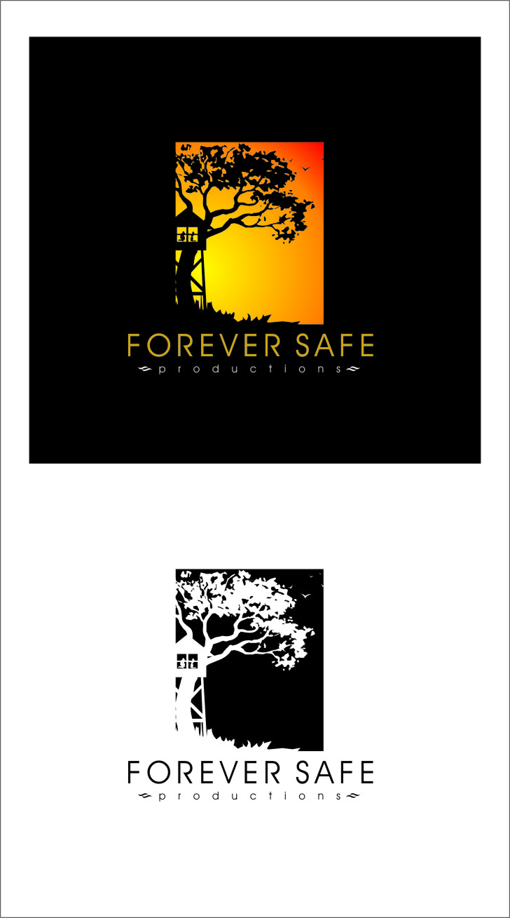 Logo Design by RasYa Muhammad Athaya - Entry No. 56 in the Logo Design Contest Inspiring Logo Design for Forever Safe Productions.