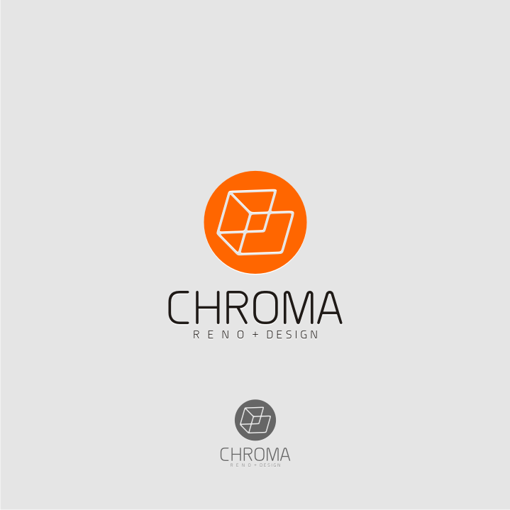 Logo Design by graphicleaf - Entry No. 38 in the Logo Design Contest Inspiring Logo Design for Chroma Reno+Design.