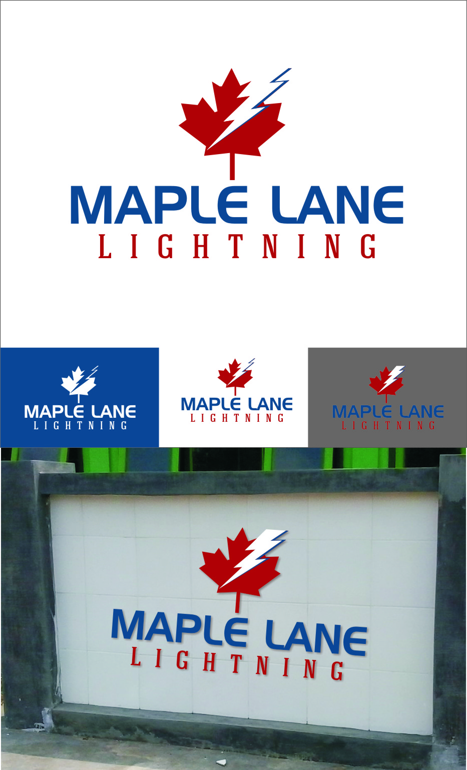 Logo Design by RasYa Muhammad Athaya - Entry No. 96 in the Logo Design Contest Maple Lane Logo Design.