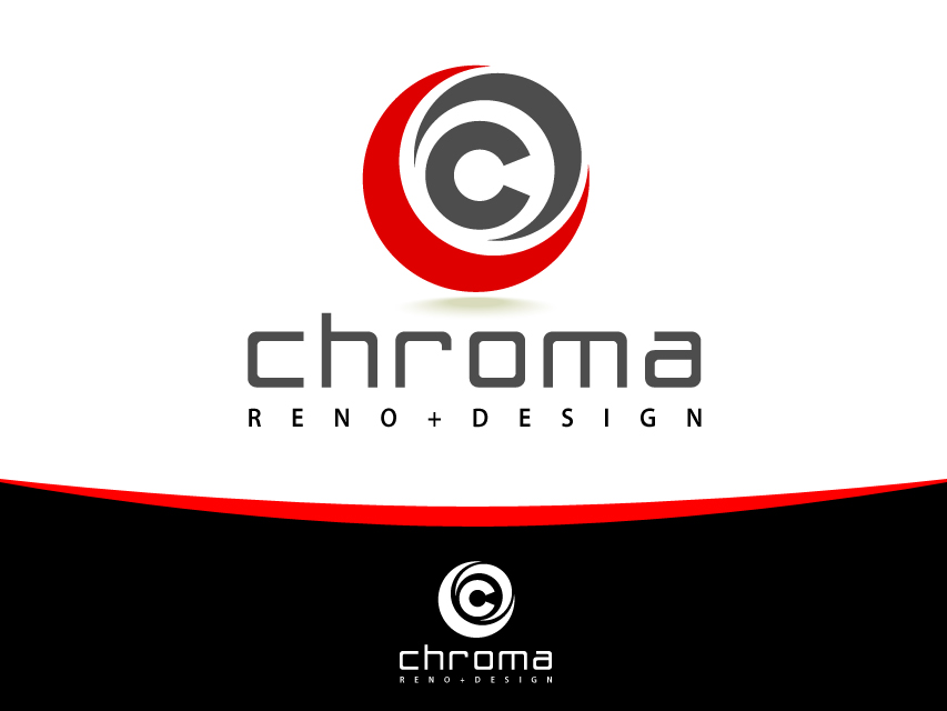 Logo Design by Richard Soriano - Entry No. 39 in the Logo Design Contest Inspiring Logo Design for Chroma Reno+Design.