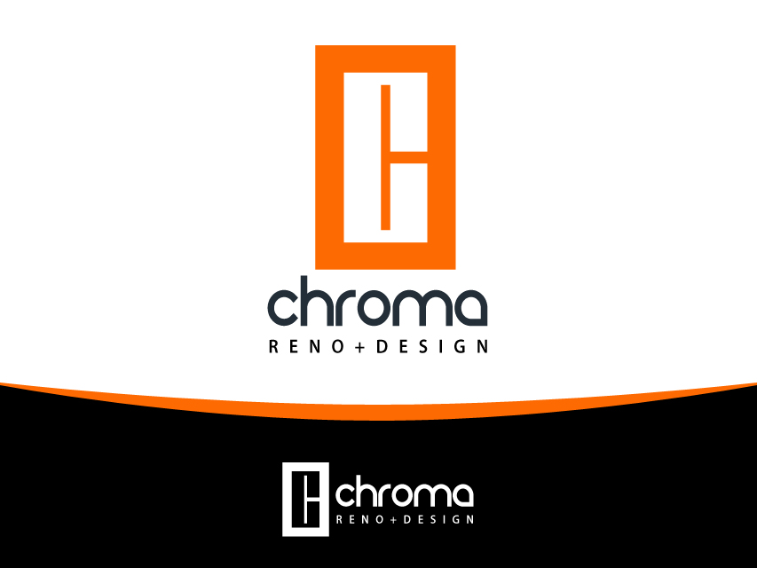 Logo Design by Richard Soriano - Entry No. 40 in the Logo Design Contest Inspiring Logo Design for Chroma Reno+Design.