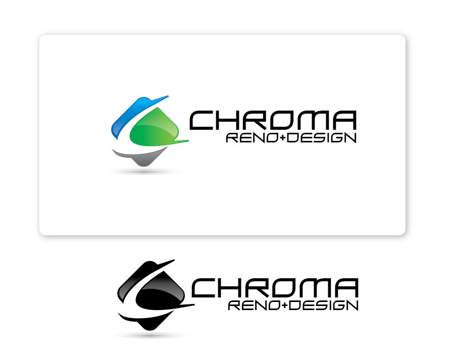 Logo Design by Private User - Entry No. 41 in the Logo Design Contest Inspiring Logo Design for Chroma Reno+Design.